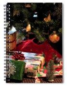 Christmas Memories Spiral Notebook