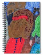 Christmas On A Farm Spiral Notebook