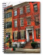 Christmas On Grove Street Spiral Notebook