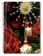 Christmas Ornaments 1 Spiral Notebook