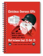 Christmas Overseas Gifts -- Ww2 Spiral Notebook