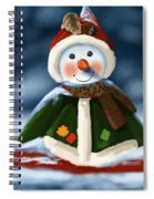 Christmas Party Spiral Notebook