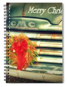 Christmas Pick Me Up II Spiral Notebook