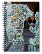 Christmas Polar Bears Spiral Notebook