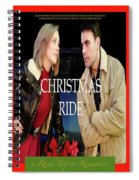 Christmas Ride Poster 16 Spiral Notebook