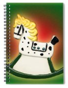 Christmas Rocking Horse Spiral Notebook