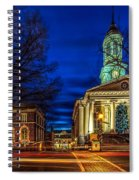 Christmas Small Town Spiral Notebook