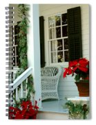 Christmas Spirit In Key West Spiral Notebook