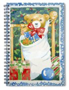 Christmas Stocking Spiral Notebook