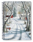 Christmas Surprise Spiral Notebook
