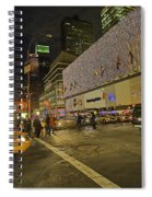Christmas Time II Spiral Notebook