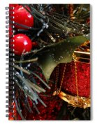 Christmas Time Is Here Spiral Notebook