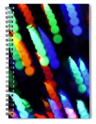 Christmas Time Lights On Tree Spiral Notebook