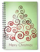 Christmas Tree Spiral Notebook