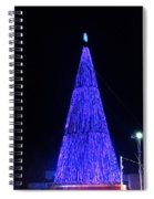Christmas Tree San Salvador 2 Spiral Notebook
