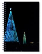 Christmas Tree San Salvador 4 Spiral Notebook
