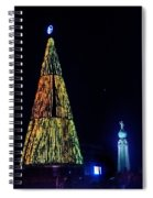 Christmas Tree San Salvador Spiral Notebook