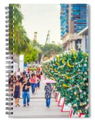 Christmas Trees Spiral Notebook