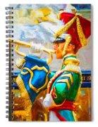 Christmas Trumpet Spiral Notebook