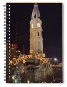Christmas Village  Spiral Notebook