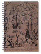 Christopher Colombus Discovering The Islands Of Margarita And Cubagua Where They Found Many Pearls Spiral Notebook