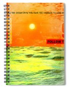 Christopher Columbus 1492 Spiral Notebook