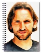 Christopher Eccleston Spiral Notebook