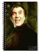 Christopher Lee, Dracula Spiral Notebook