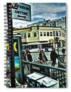 Christopher Street Greenwich Village  Spiral Notebook