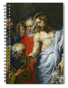 Christ's Charge To Peter  Spiral Notebook