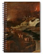 Christ's Descent Into Hell Spiral Notebook