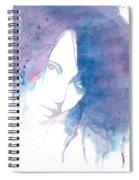 Chromatic Girl Spiral Notebook