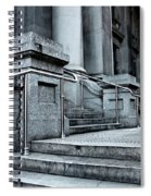 Chrome Balustrade Spiral Notebook