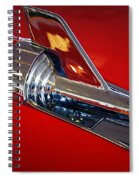 Chrome Spiral Notebook