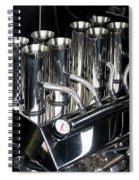 Chromed Fuel Injection Spiral Notebook