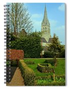 Church Garden Spiral Notebook