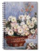 Chrysanthemums, 1878  Spiral Notebook