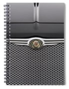 Chrysler 300 Logo And Grill Spiral Notebook