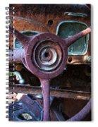 Chrysler Airflow Dashboard Painterly Impression Spiral Notebook