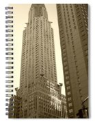Chrysler Building Spiral Notebook
