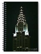 Chrysler Building In Manhattan New York City Spiral Notebook