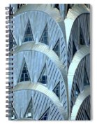 Chrysler Closeup Spiral Notebook