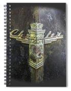Chrysler Hood Ornament Spiral Notebook