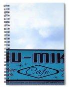 Chu - Mikals - Friendly Austin Texas Charm Spiral Notebook