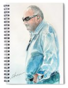 Chubby Chandler Watercolor Spiral Notebook