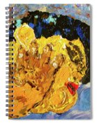 Chubby In Dreamland Spiral Notebook