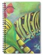 Chubby Little Caterpillars Spiral Notebook