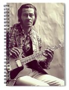 Chuck Berry, Music Legend Spiral Notebook