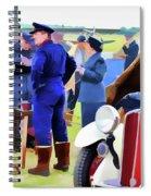Chucks Away Ww2 Duxford Spiral Notebook