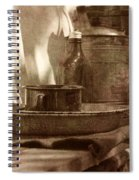Chuckwagon Sideboard Spiral Notebook